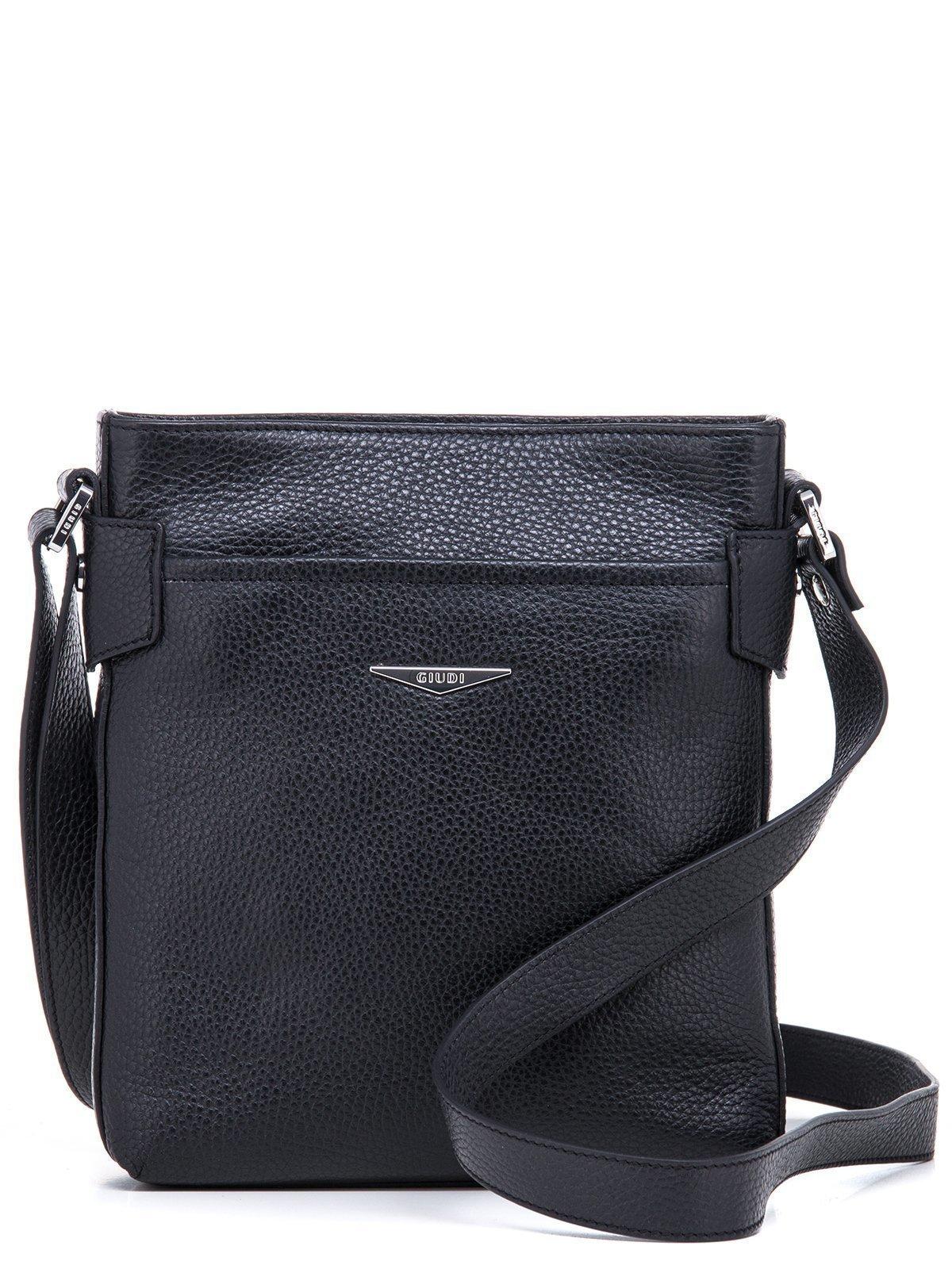 3eae0a073cbd Чёрная сумка планшет Giudi купить по цене 10490 руб. ☛ (артикул ...