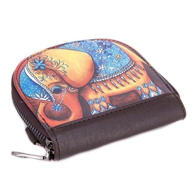 Цветное портмоне Angelo Bianco - 200.00 руб