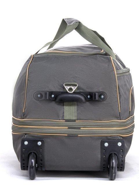 Зелёный чемодан Lbags (Эльбэгс) - артикул: К0000029535 - ракурс 1
