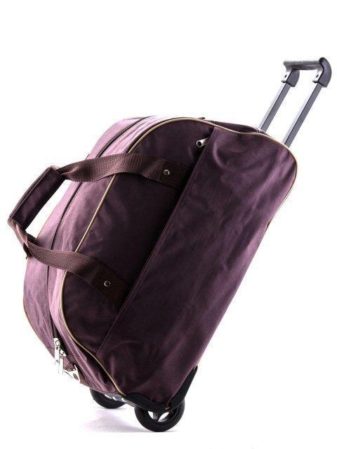 Коричневый чемодан Lbags (Эльбэгс) - артикул: К0000015919 - ракурс 4