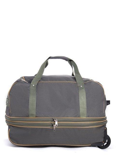Зелёный чемодан Lbags (Эльбэгс) - артикул: К0000029535 - ракурс 2