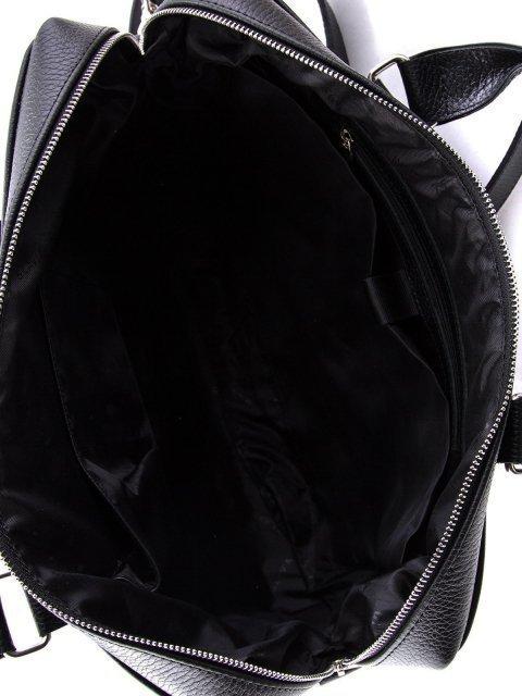 Чёрная сумка классическая S.Lavia (Славия) - артикул: 0016 12 01 - ракурс 4