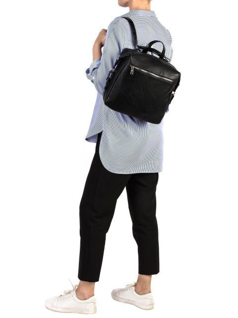 Чёрный рюкзак S.Lavia (Славия) - артикул: 868 512 01 - ракурс 1