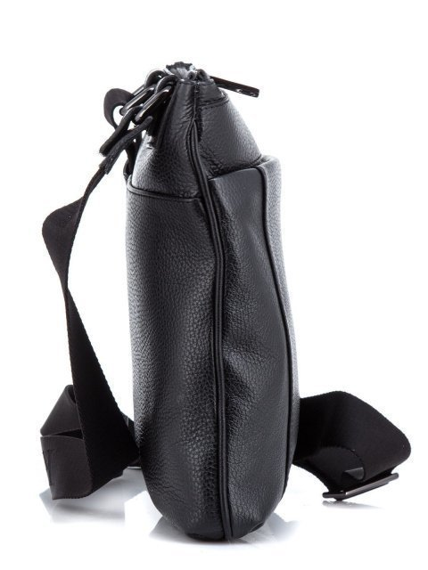 Чёрная сумка планшет Ripani (Рипани) - артикул: К0000033166 - ракурс 2