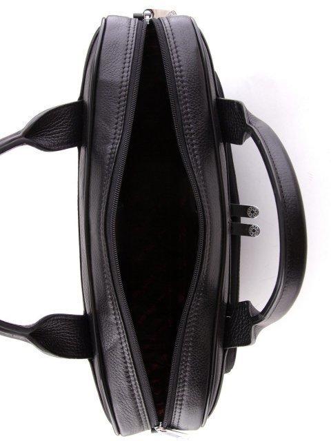 Чёрная прямоугольная сумка Karya (Кария) - артикул: К0000024763 - ракурс 4