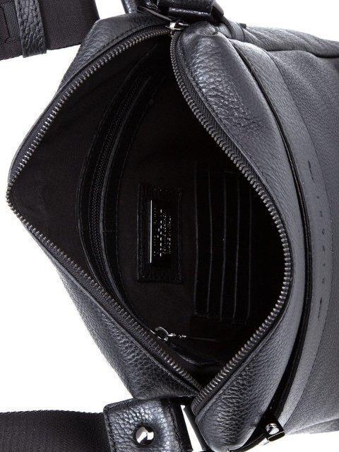Чёрная сумка планшет Ripani (Рипани) - артикул: К0000033167 - ракурс 4