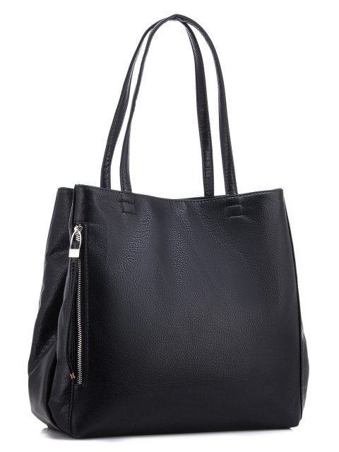 Чёрный шоппер S.Lavia (Славия) - артикул: 878 601 01 - ракурс 1