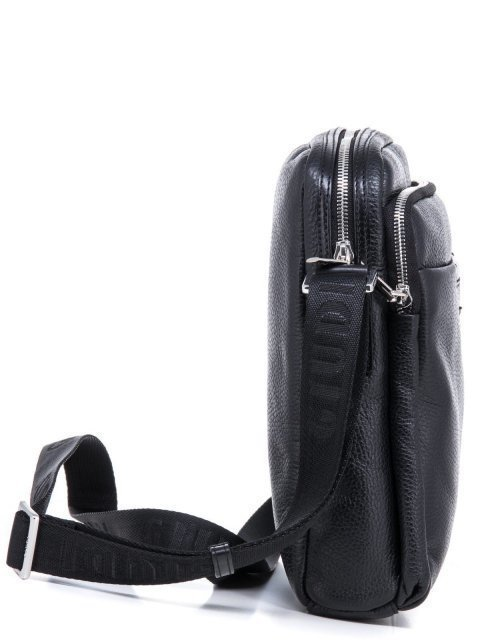 Чёрная сумка планшет Giudi (Джуди) - артикул: К0000030712 - ракурс 2