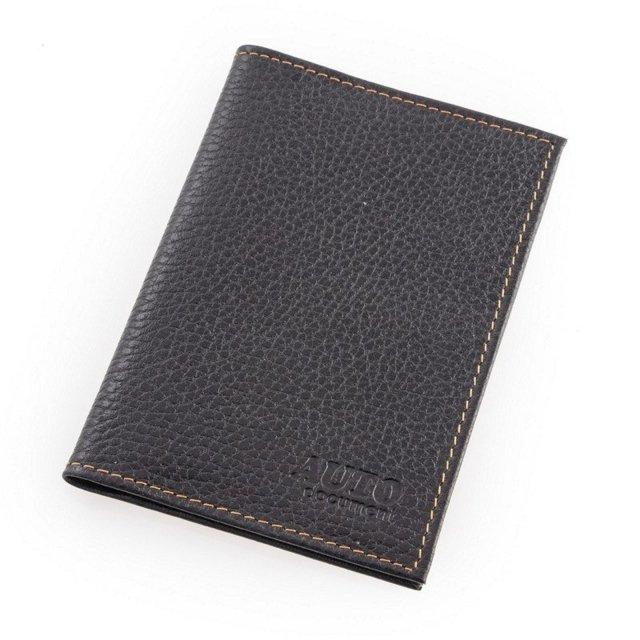 Чёрная обложка для документов S.Lavia - 390.00 руб
