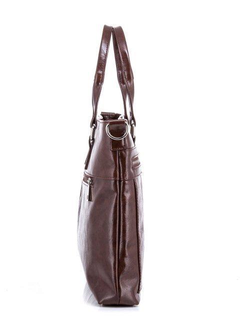 Коричневая сумка классическая S.Lavia (Славия) - артикул: 355 048 02 - ракурс 2