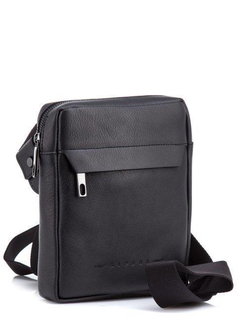 Чёрная сумка планшет Ripani (Рипани) - артикул: К0000033168 - ракурс 1
