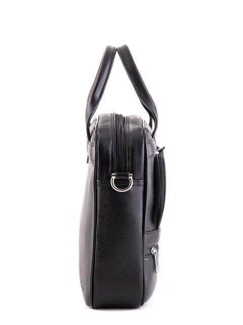 Чёрная прямоугольная сумка Karya (Кария) - артикул: К0000024737 - ракурс 2