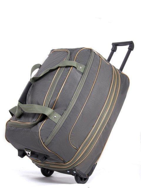 Зелёный чемодан Lbags (Эльбэгс) - артикул: К0000029535 - ракурс 4
