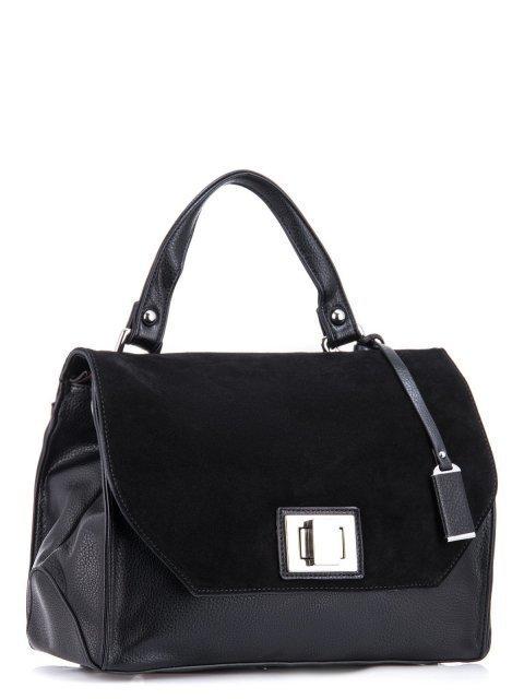 Чёрный портфель Polina (Полина) - артикул: К0000032726 - ракурс 1