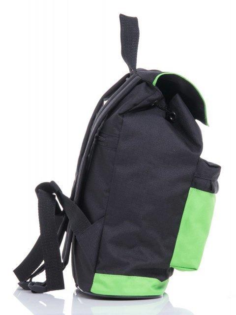 Зелёный рюкзак Lbags (Эльбэгс) - артикул: К0000030344 - ракурс 2