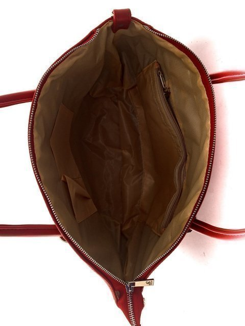 Красная сумка классическая S.Lavia (Славия) - артикул: 808 635 04 - ракурс 4