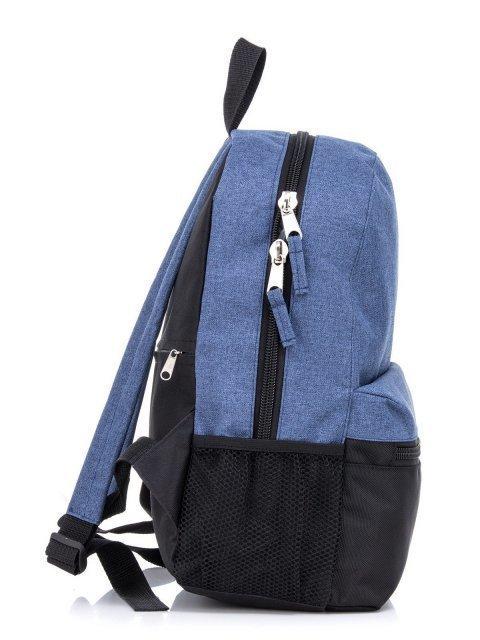 Синий рюкзак Lbags (Эльбэгс) - артикул: К0000031247 - ракурс 2