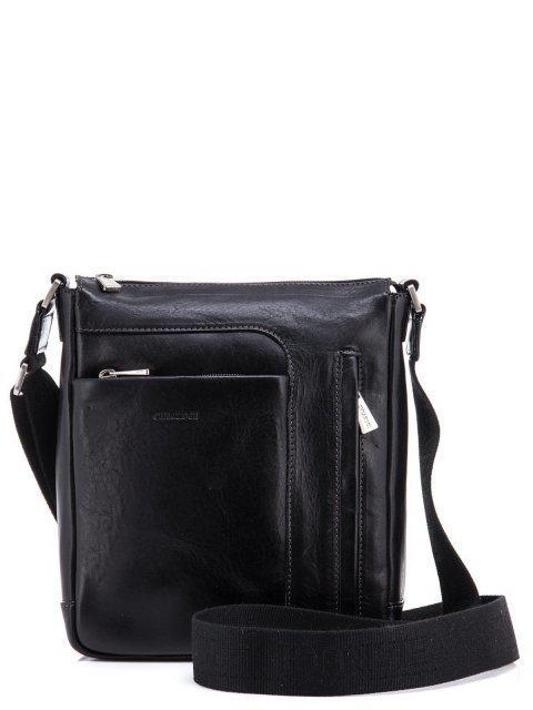 Чёрная сумка планшет CHIARUGI - 8393.00 руб