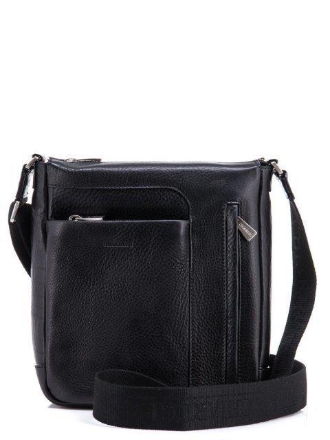 Чёрная сумка планшет CHIARUGI - 12390.00 руб