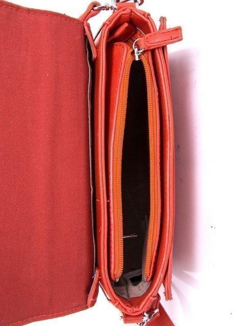 Рыжая сумка планшет David Jones (Дэвид Джонс) - артикул: К0000028621 - ракурс 4