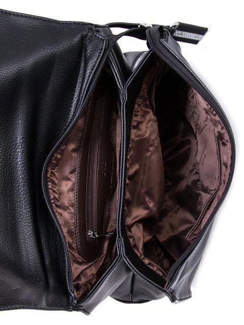 Чёрный портфель Polina (Полина) - артикул: К0000032726 - ракурс 4