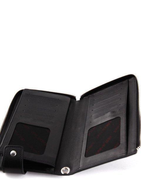 Чёрная сумка планшет Karya (Кария) - артикул: К0000024777 - ракурс 4