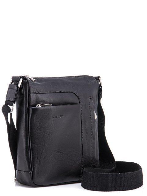 Чёрная сумка планшет CHIARUGI (Кьяруджи) - артикул: К0000031344 - ракурс 1