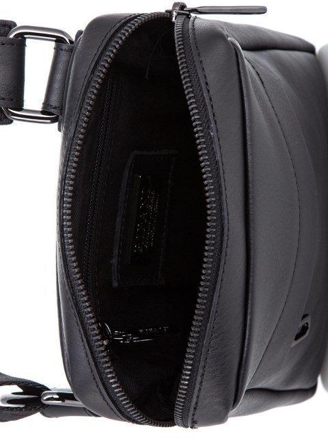 Чёрная сумка планшет Ripani (Рипани) - артикул: К0000033168 - ракурс 4