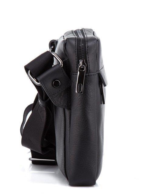 Чёрная сумка планшет Ripani (Рипани) - артикул: К0000033168 - ракурс 2