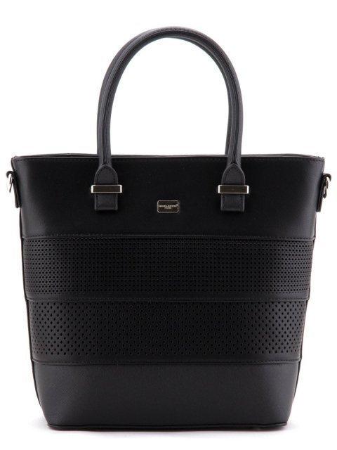 Чёрная сумка классическая David Jones - 1000.00 руб