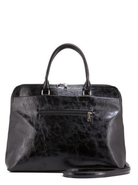 Чёрная сумка классическая S.Lavia (Славия) - артикул: 484 048 01 - ракурс 3