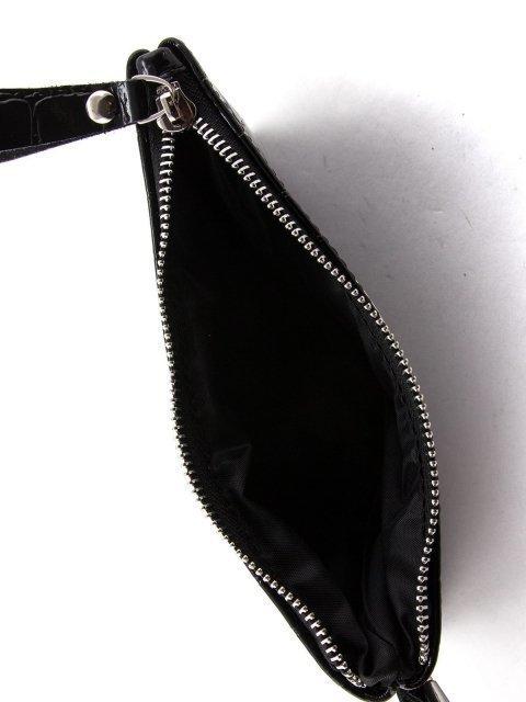 Чёрная сумка планшет S.Lavia (Славия) - артикул: 019НК Крок 3 - ракурс 4