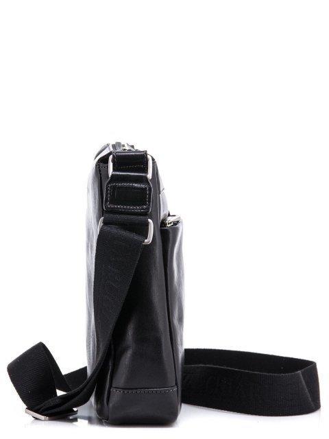 Чёрная сумка планшет CHIARUGI (Кьяруджи) - артикул: К0000031344 - ракурс 2