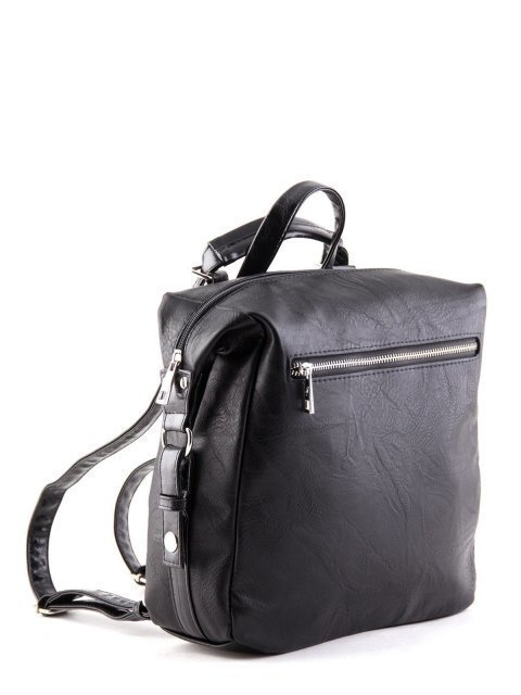 Чёрный рюкзак S.Lavia (Славия) - артикул: 868 512 01 - ракурс 2
