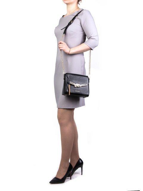 Чёрная сумка планшет Cromia (Кромиа) - артикул: К0000028567 - ракурс 1