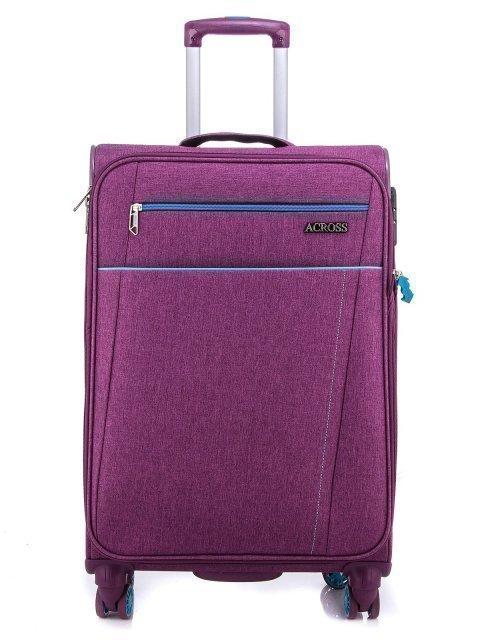 Фиолетовый чемодан Across - 7299.00 руб