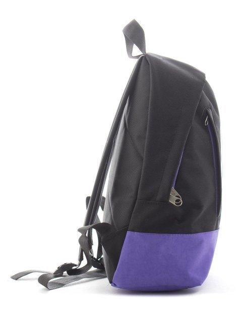 Чёрный рюкзак Lbags (Эльбэгс) - артикул: К0000018662 - ракурс 1