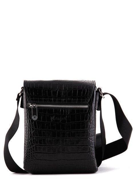 Чёрная сумка планшет Karya (Кария) - артикул: К0000024793 - ракурс 3