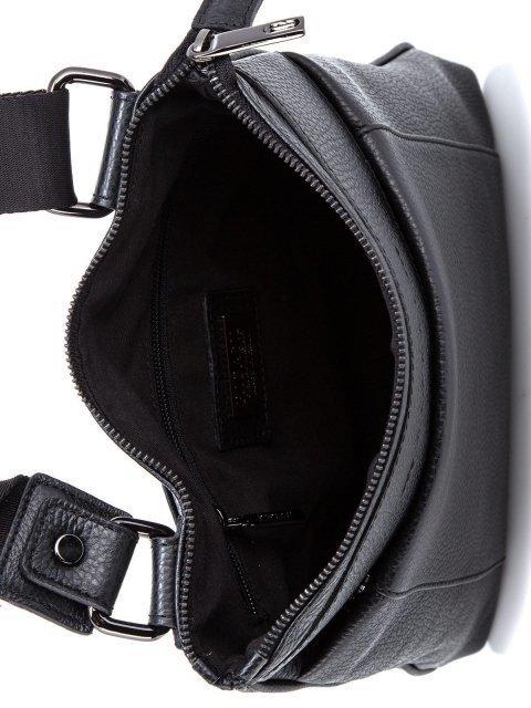 Чёрная сумка планшет Ripani (Рипани) - артикул: К0000033166 - ракурс 4