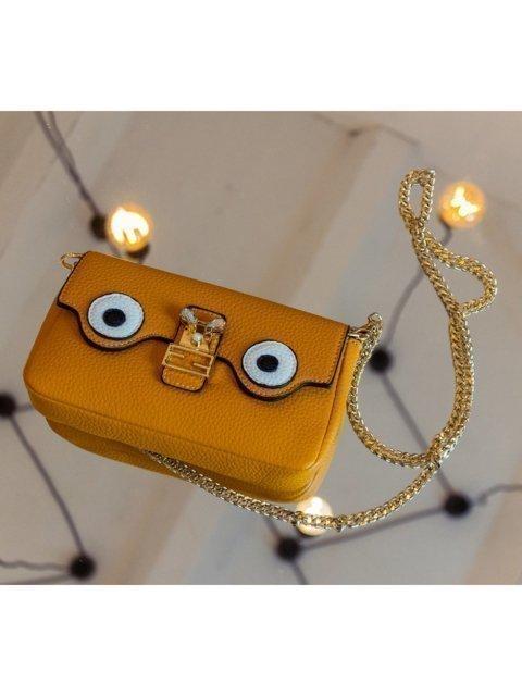 Жёлтая сумка планшет LULUMINA (Лалумина) - артикул: К0000018269 - ракурс 4