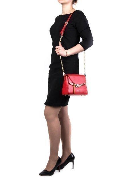 Красная сумка планшет Cromia (Кромиа) - артикул: К0000028492 - ракурс 1