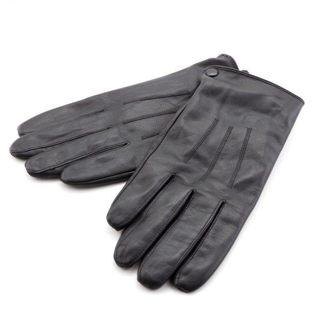 Чёрные перчатки Pittards - 1890.00 руб