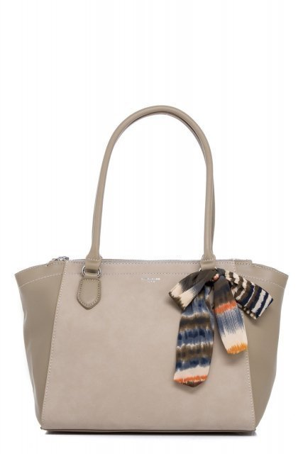 Хаки сумка классическая David Jones - 1025.00 руб