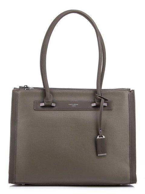 Хаки сумка классическая David Jones - 1499.00 руб