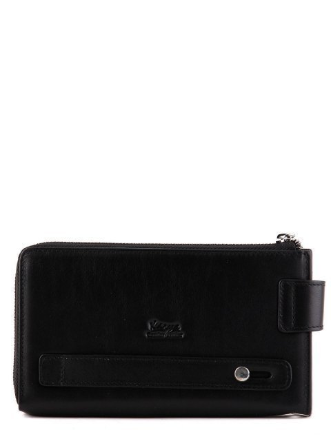 Чёрная сумка планшет Karya (Кария) - артикул: К0000024777 - ракурс 3
