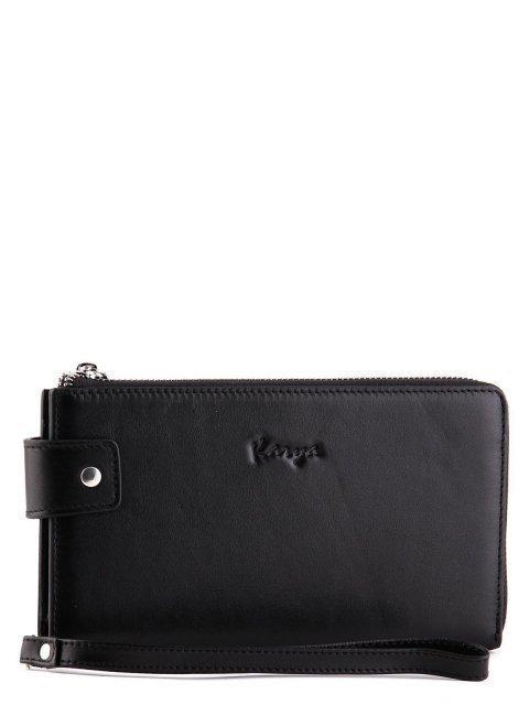 Чёрная сумка планшет Karya (Кария) - артикул: К0000024777 - ракурс 1