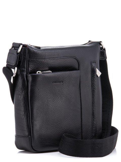 Чёрная сумка планшет CHIARUGI (Кьяруджи) - артикул: К0000031342 - ракурс 1