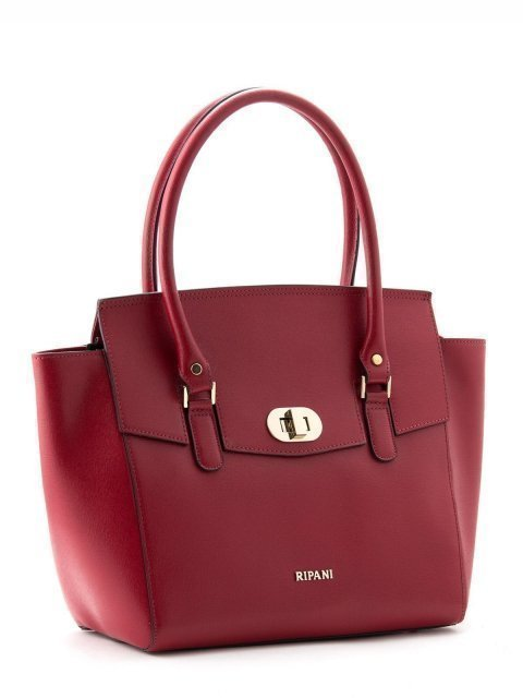 Красная сумка классическая Ripani (Рипани) - артикул: К0000022949 - ракурс 2