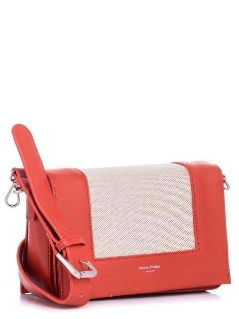 Рыжая сумка планшет David Jones (Дэвид Джонс) - артикул: К0000028621 - ракурс 1