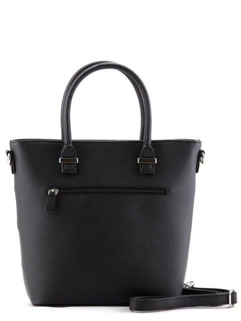 Чёрная сумка классическая David Jones (Дэвид Джонс) - артикул: К0000027172 - ракурс 3